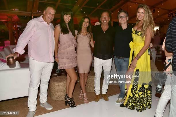 Jeff Greene Mae Sze Greene Maria Baum Gary Friedman Jason Binn and Bella Hunter attend Sixth Annual Hamptons Paddle and Party for Pink Benefitting...