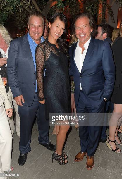 Jeff Greene Mei Sze and RH Chairman and CEO Gary Friedman attend the private opening celebration of RH West Palm on November 18 2017 in West Palm...