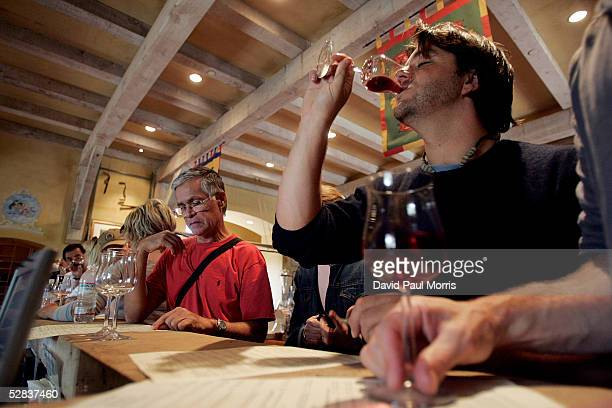 Jeff Hamaoui tastes wine at the Vianasa Winery May 16 2005 in Napa Valley California The Supreme court voted to stop the ban on interstate wine sales...