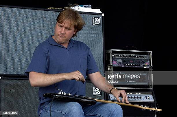 Jeff Healey at the Downsview Park in Toronto, Canada.