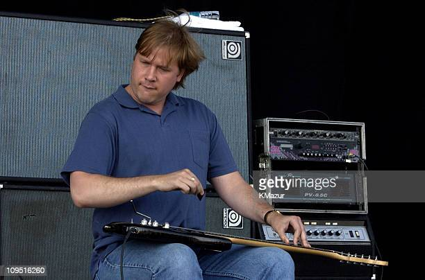Jeff Healey during Molson Canadian Rocks for Toronto - Show at Downsview Park in Toronto, Ontario, Canada.