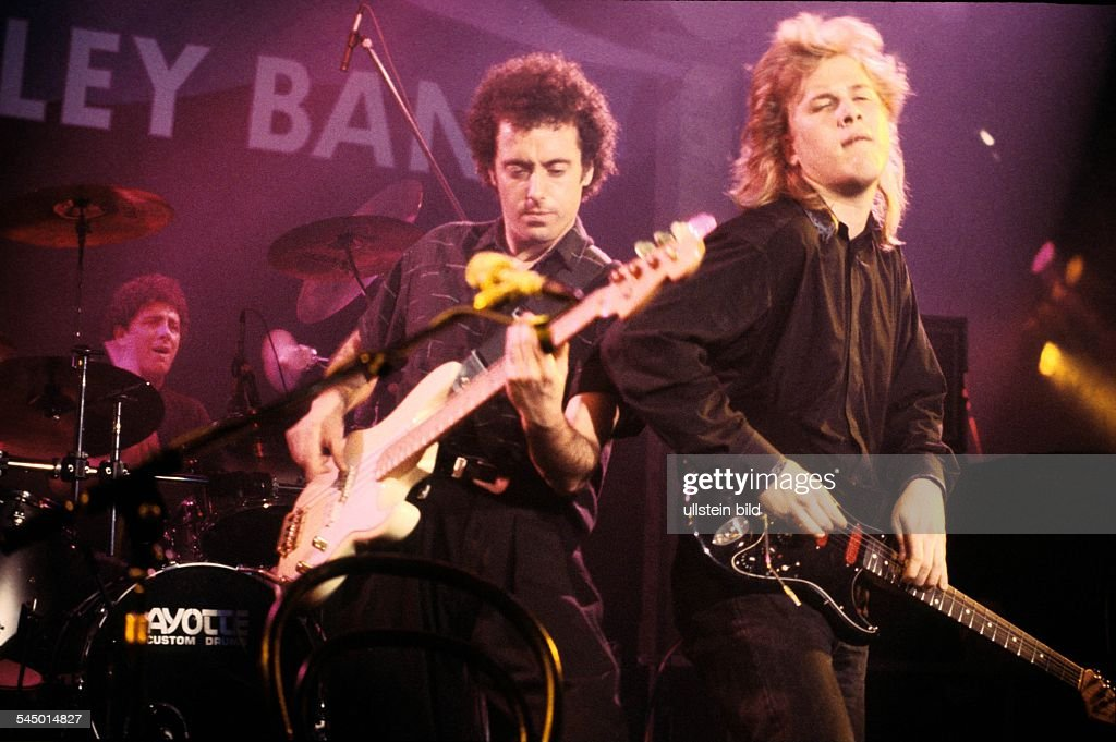 "Jeff Healey - Musician, Rock music, Guitarist, Canada - performing in the TV-Show ""Ohne Filter"" - 05.1989 : Fotografía de noticias"