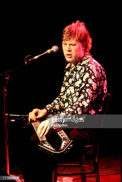 Jeff Healey on 10/3/88 in Chicago, IL.