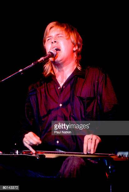 Jeff Healey on 3/29/89 in Champaign, IL.