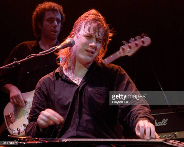 Jeff Healey performing at the Warfield Theater in San Francisco on September 9, 1990.
