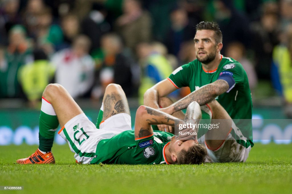 Republic of Ireland v Denmark - FIFA 2018 World Cup Qualifier Play-Off: Second Leg : News Photo