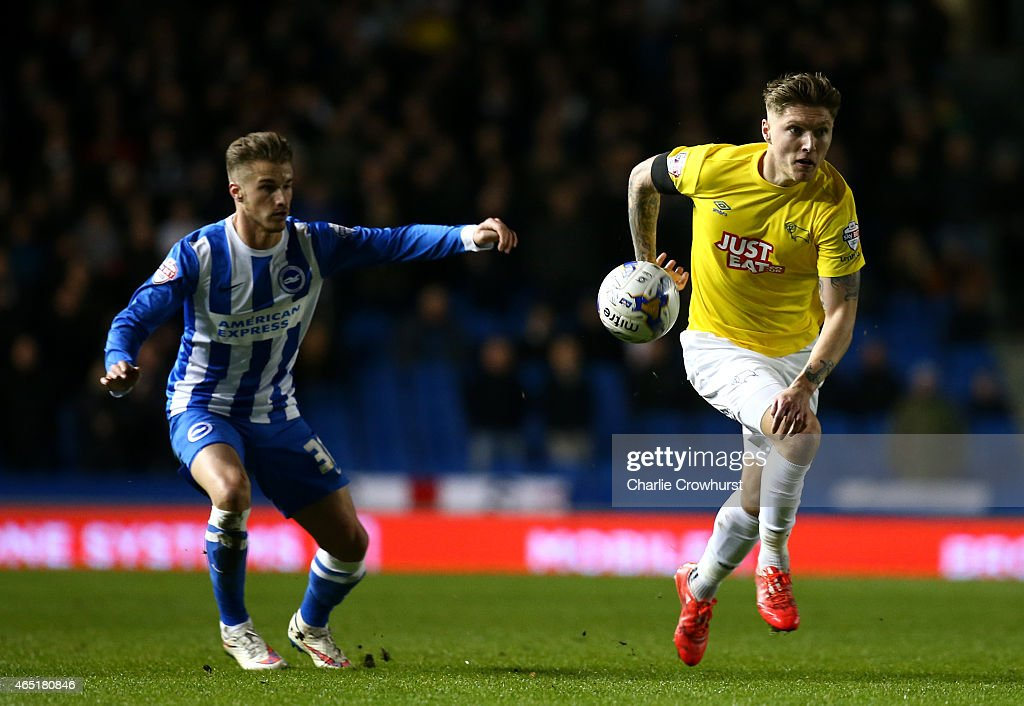 Brighton & Hove Albion v Derby County - Sky Bet Championship : News Photo