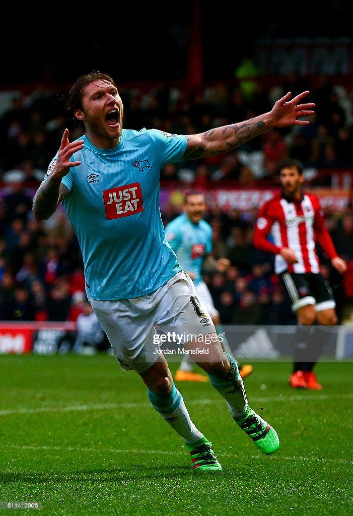 Brentford v Derby County   - Sky Bet Championship