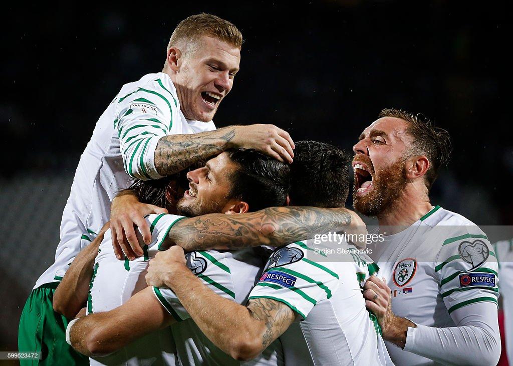 Serbia v Republic of Ireland - FIFA 2018 World Cup Qualifier