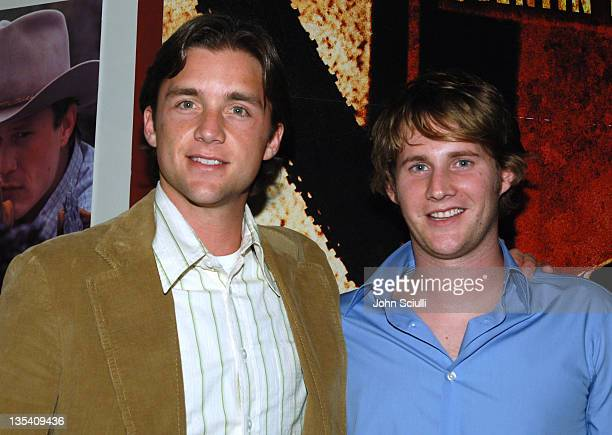 Jeff Hephner and Derek Richardson during Lions Gate Films' Hostel Cast and Crew Screening Arrivals at Arclight Theatre in Hollywood California United...
