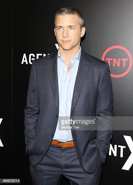 Jeff Hephner arrives at the premiere of TNT's Agent X held at The London West Hollywood on October 20 2015 in West Hollywood California