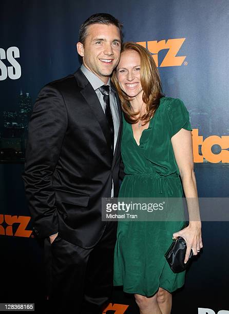 Jeff Hephner arrives at the season premiere of Starz series Boss held at ArcLight Cinemas on October 6 2011 in Hollywood California