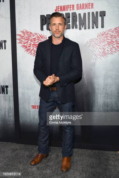 Jeff Hephner attends the premiere of STX Entertainment's Peppermint at Regal Cinemas LA LIVE Stadium 14 on August 28 2018 in Los Angeles California