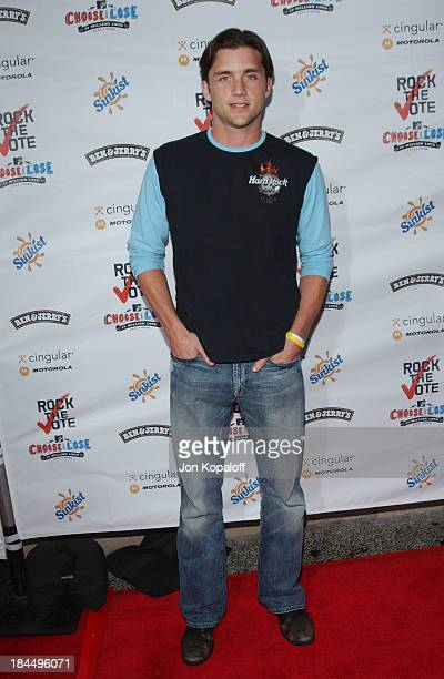 Jeff Hephner during Rock The Vote 2004 National Bus Tour Arrivals at Avalon Hollywood in Hollywood California United States