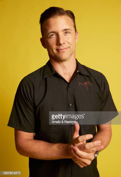 Jeff Hephner from National Geographic's 'When Earthlings Become Martians Mars Season 2' poses for a portrait at the Getty Images Portrait Studio...