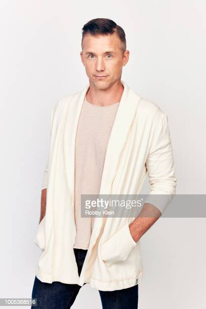 Jeff Hephner of National Geographic's 'Mars' poses for a portrait during the 2018 Summer Television Critics Association Press Tour at The Beverly...