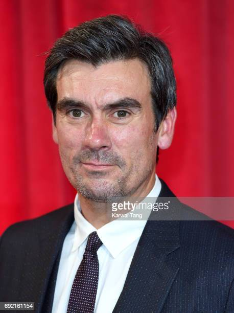 Jeff Hordley attends the British Soap Awards at The Lowry Theatre on June 3 2017 in Manchester England