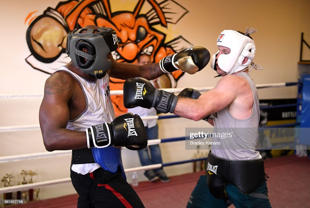 Jeff Horn Sparring Session