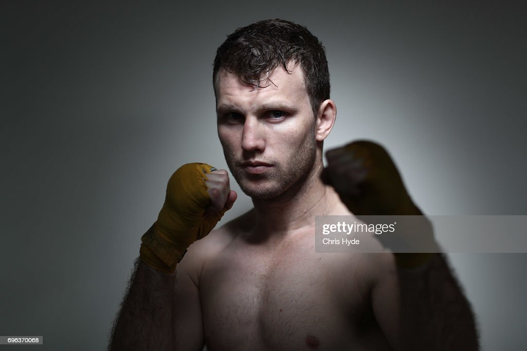Jeff Horn Training Session