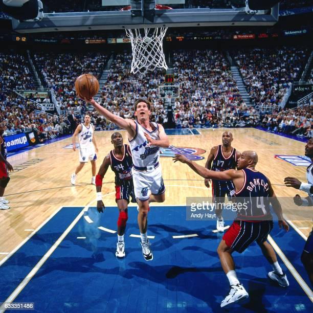 Houston Rockets Vs Utah Jazz: Utah Jazz V Houston Rockets Game One Imagens E Fotografias
