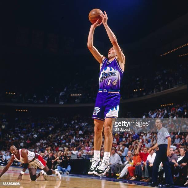 Houston Rockets Vs Utah Jazz: Utah Jazz Jeff Hornacek Stock Photos And Pictures