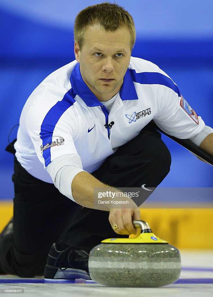 Curling Olympic Qualification Tournament - Day 3
