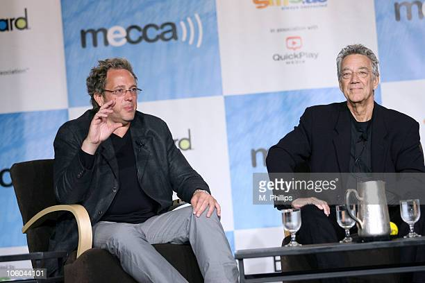 Jeff Jampol Manager for the Doors and Ray Manzarek of the Doors