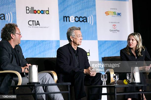 Jeff Jampol Manager for the Doors, Ray Manzarek of the Doors and Tamara Conniff of Billboard