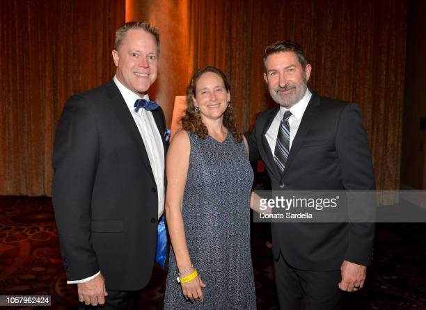 Jeff Jones Amber Miller and Steve Johnson attend the Ambassadors For Humanity Gala Benefiting USC Shoah Foundation Honoring Rita Wilson And Tom Hanks...
