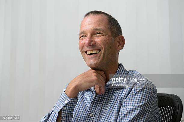Jeff Jordan general partner of Andreessen Horowitz smiles during an interview in Tokyo Japan on Thursday Sept 8 2016 Airbnb Inc's public debut won't...