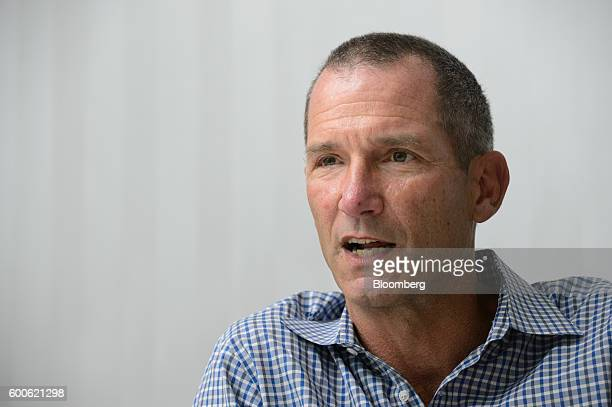 Jeff Jordan general partner of Andreessen Horowitz speaks during an interview in Tokyo Japan on Thursday Sept 8 2016 Airbnb Inc's public debut won't...