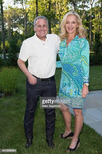 Jeff King and Ann Liguori attend Hamptons Magazine Celebration with Cover Star Charlotte Ronson at Barn Vine on June 24 2016 in Bridgehampton New York