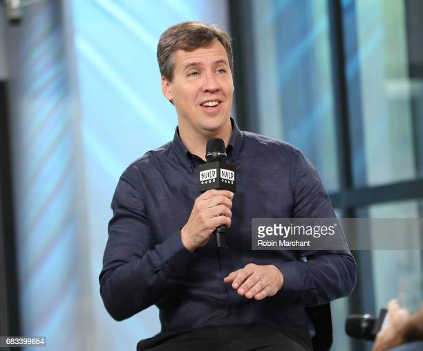 """Jeff Kinney attends the Build Presents """"Diary Of A Wimpy Kid: The Long Haul"""" at Build Studio on May 15, 2017 in New York City."""
