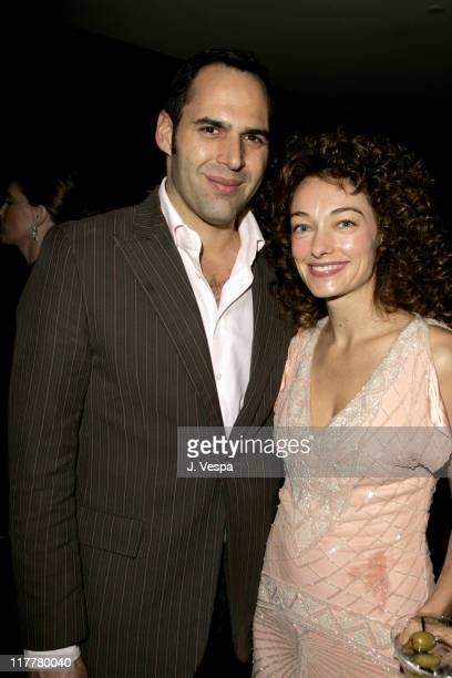Jeff Klein and Kelly Wearstler during Departures Magazine Celebrates Its Los Angeles Issue at The Argyle Hotel in West Hollywood California United...