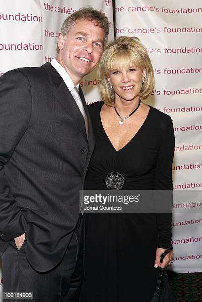 Jeff Konigsberg and Joan Lunden during The Candie's Foundation Hosts Its 4th Annual Event to Prevent Benefit at Cipriani 42nd Street in New York City...