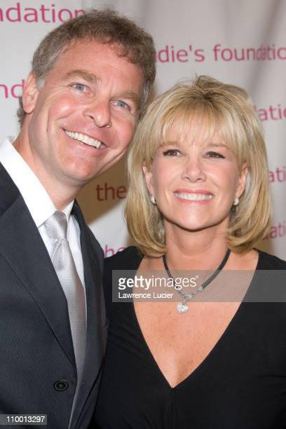 Jeff Konigsberg and Joan Lunden during The Candie's Foundation Presents Its 4th Annual Event To Prevent Benefit at Cipriani 42nd Street in New York...