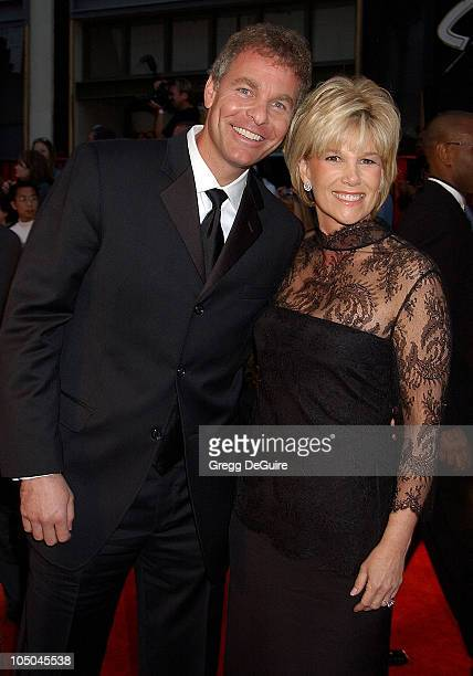 Jeff Konigsberg Joan Lunden during ABC's 50th Anniversary Celebration at The Pantages Theater in Hollywood California United States