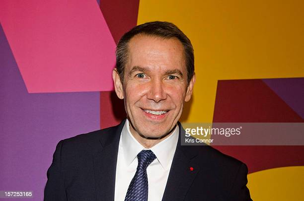Jeff Koons attends Art In Embassies 50th Anniversary Celebration at Smithsonian National Museum Of American History on November 30 2012 in Washington...
