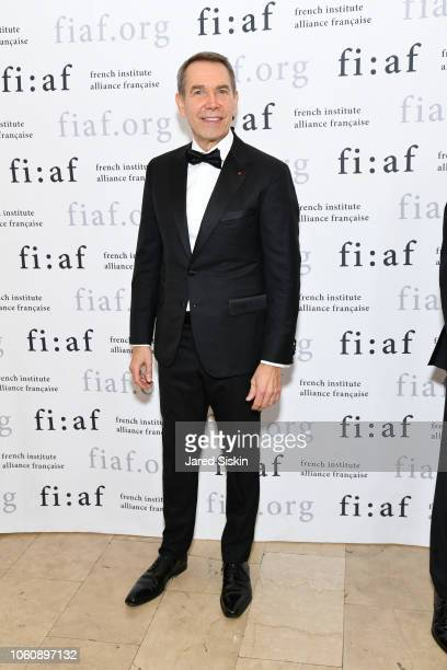 Jeff Koons attends FIAF Trophee des Arts Gala at The Plaza Hotel on November 12 2018 in New York City