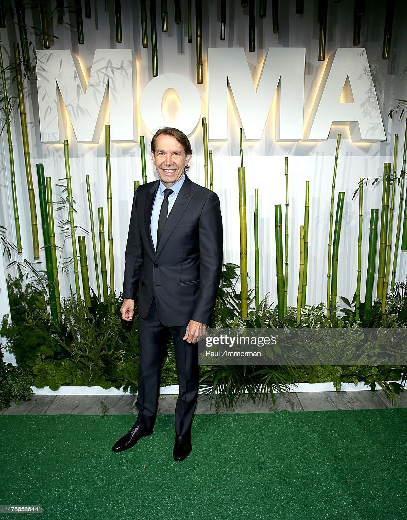 Jeff Koons attends the 2015 Museum of Modern Art Party In The Garden and special salute to David Rockefeller on his 100th Birthday at Museum of Modern Art on June 2, 2015 in New York City.