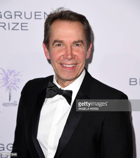 Jeff Koons attends the 2017 Berggruen Prize Gala at the New York Public Library on December 14 2017 in New York / AFP PHOTO / ANGELA WEISS