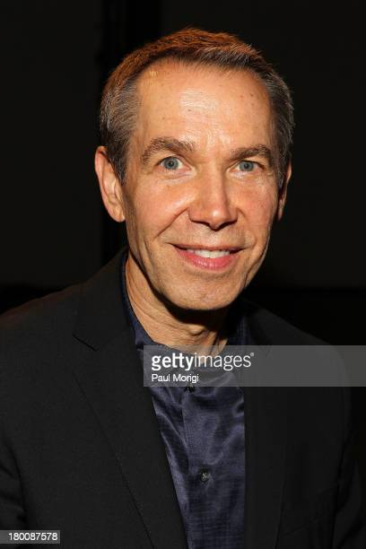 Jeff Koons attends the Edun show during Spring 2014 MercedesBenz Fashion Week at Skylight Modern on September 8 2013 in New York City