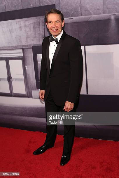 Jeff Koons attends The Whitney Museum Of American Art's 2014 Gala Studio Party at The Whitney Museum of American Art on November 19 2014 in New York...