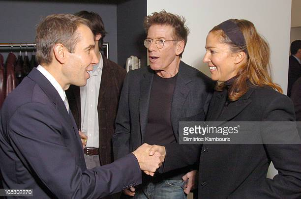Jeff Koons Calvin Klein and Kelly Klein during Calvin Klein and Jeff Koons Host an Evening Benefit ICMEC at Calvin Klein Madison Avenue in New York...