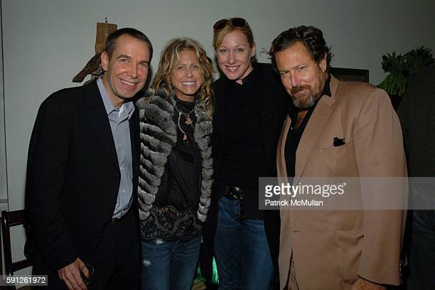Jeff Koons Tracey Ross Amy Sacco and Julian Schnabel attend Preview of EDUN's Premier Autumn/Winter 2005 Collection Hosted by Ali Bono and Rogan at...