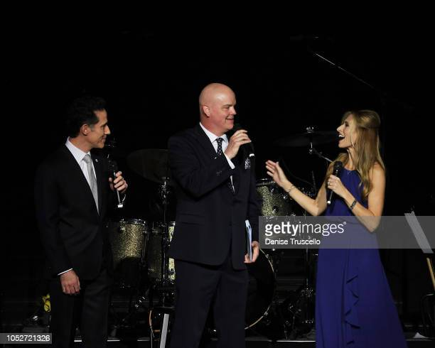 Jeff Leibow Chet Buchananat and Melody Leibow during Las Vegas's 8th annual NF Hope Concert A Benefit for Neurofibromatosis at the Palazzo Theatre at...