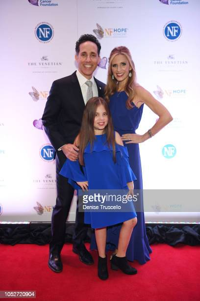 Jeff Leibow Emma Leibow Melody Leibow arrive at Las Vegas's 8th annual NF Hope Concert A Benefit for Neurofibromatosis at the Palazzo Theatre at The...