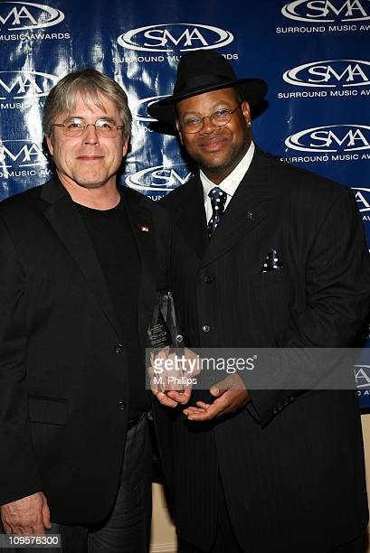 "Jeff Levison and James ""Jimmy Jam"" Harris during 2005 Surround Music Awards - Press Room at Beverly Hills Hilton in Beverly Hills, California, United..."