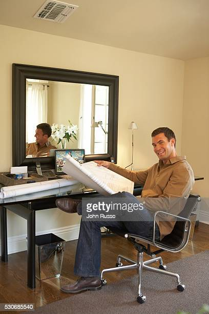 Jeff Lewis at Home