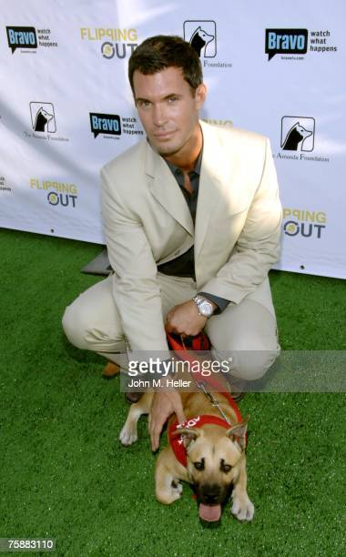 Jeff Lewis attends the premiere of the Bravo Channel's Flipping Out for Renovate To Donate for the Amanda Foundation Pet Rescue Fundraiser on July 30...